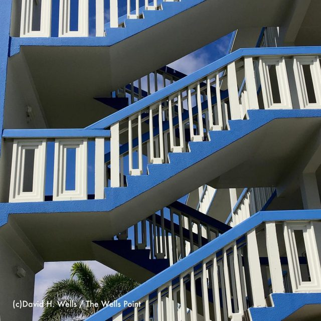A staircase abstracted in Boca Raton FL seen while visitinghellip